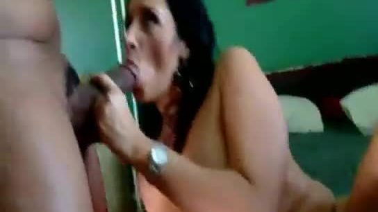 Beautiful mature vannah sterling has hot ebony threesome with two young hunks