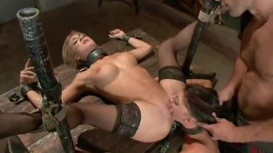 Sexy bdsm threesome