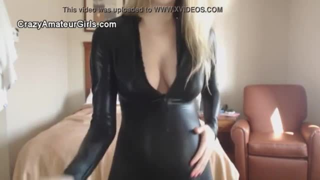 Amateur hd catsuit pregnant strip